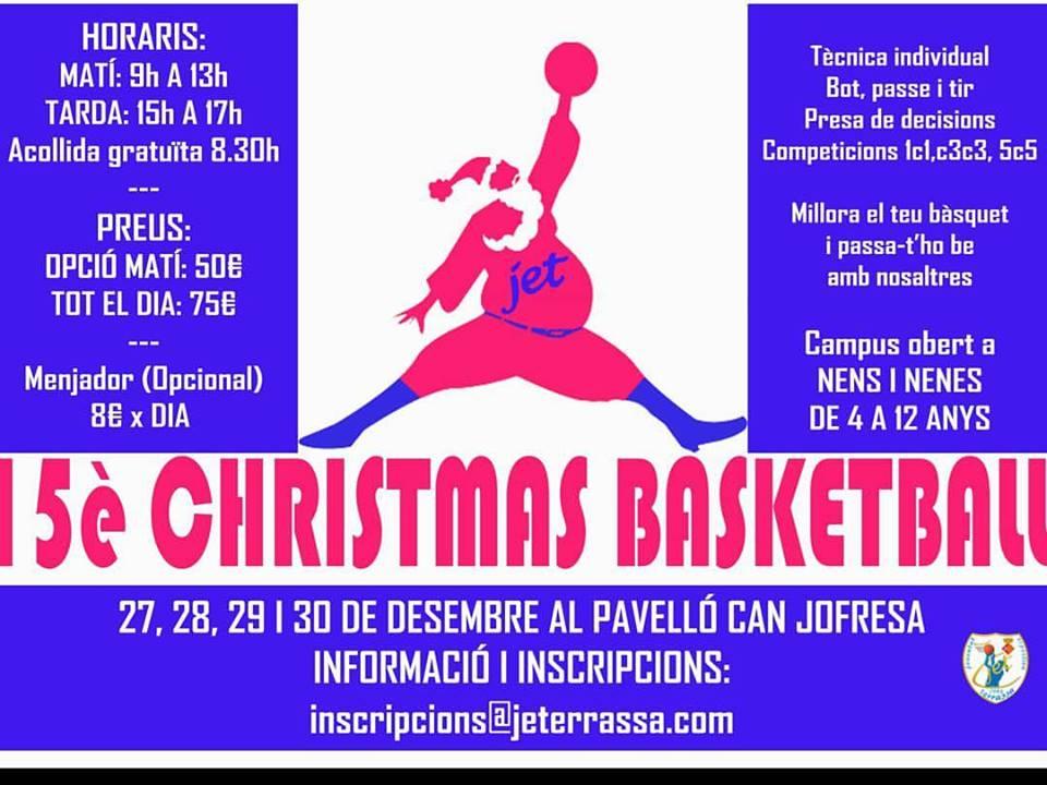 JET_TERRASSA 15è CHRISTMAS TECNIBASQUET