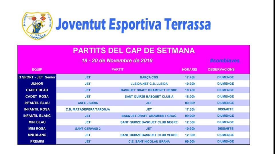 JET_TERRASSA PARTITS SEMANA 19-20 NOV