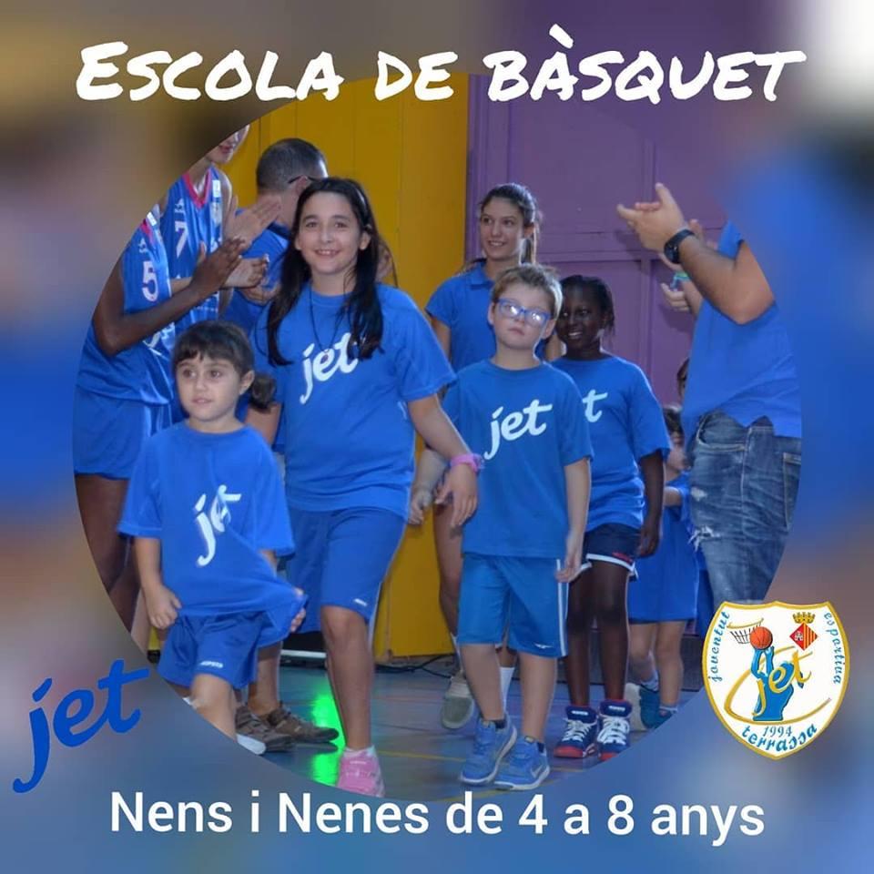 JET-TERRASSA ANUNCI ESCOLA DE BASQUET